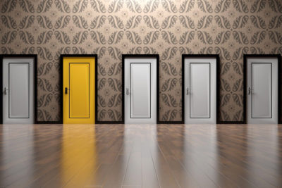 Führung - Entscheidung Türen