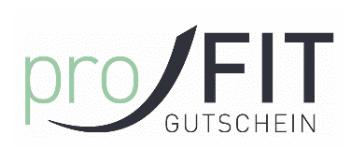 Logo proFIT Gutschein